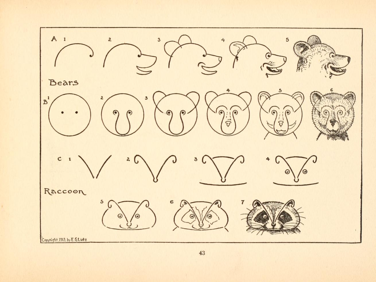 what to draw and how to draw it 1913 present correct